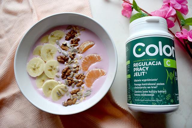 lekkie śniadanie z sumoplementem na regulację pracy jelit – colon c