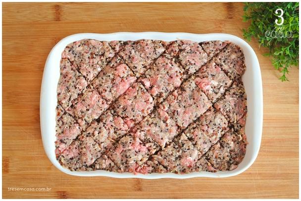 como fazer quibe de forno com quinoa