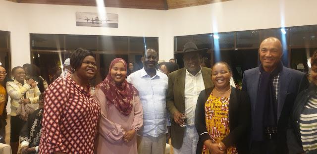 Dr IDA Odinga celebrates 70th Birthday with Waiguru, Murathe gracing the party