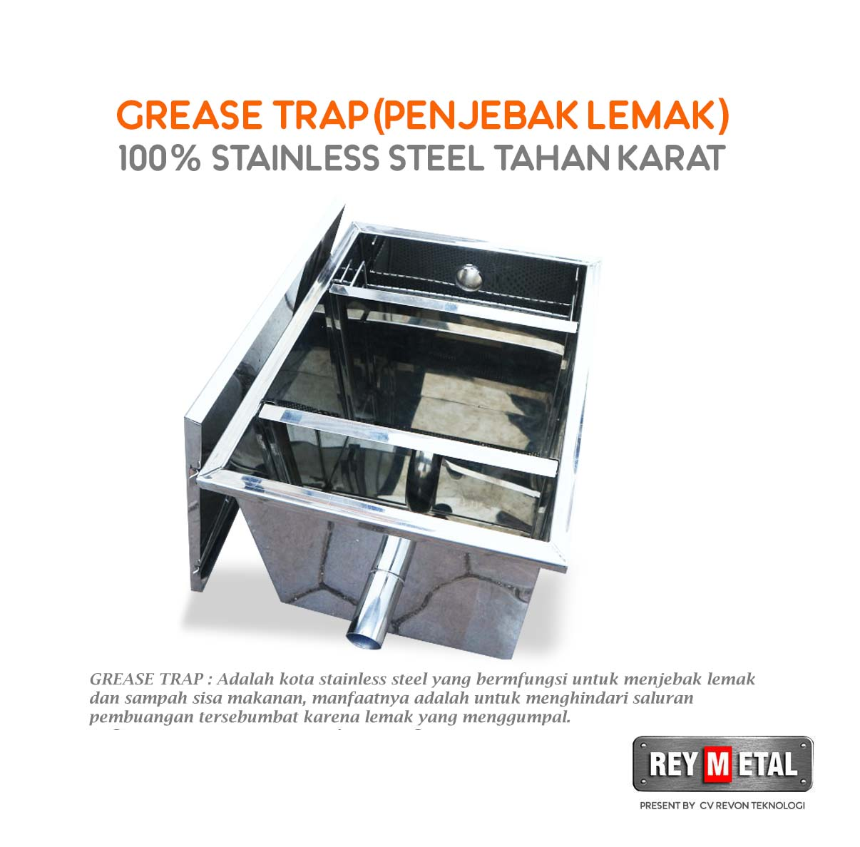Jual grease Trap Tasikmalaya Jawa Barat