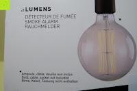 Info: Lumen Basic schwarz ? Rauchmelder, ersetzt Ihr Sockel/Pavillon Luminaire (Noxe)