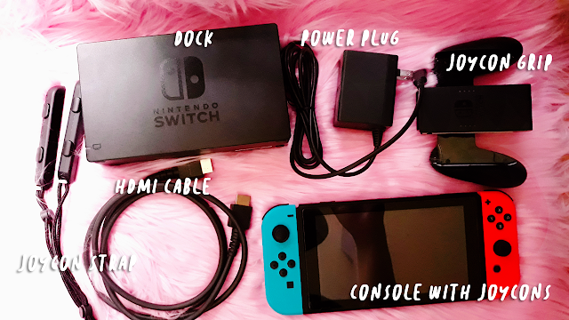 Nintendo Switch Unboxing Reverie Wonderland