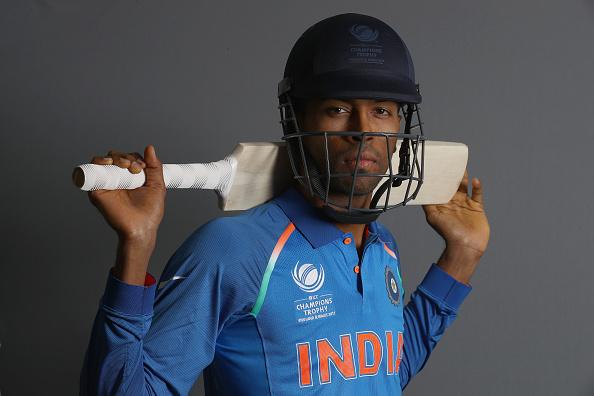 ICC Champions Trophy - India Portrait Session :Hardik Pandya