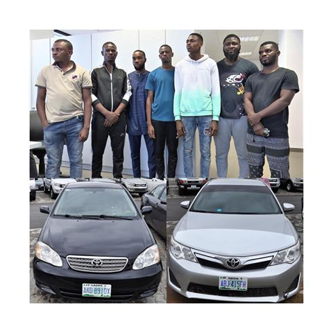 EFCC Nabs 7 Internet Fraudsters From Their Hideout In Abuja