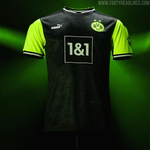 1990s-Inspired Borussia Dortmund 20-21 Limited-Edition Kit ...