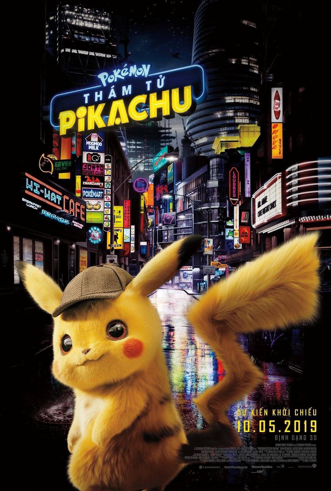 Pokemon: Thám tử Pikachu