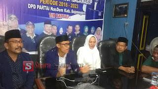 Anna Muawanah Bersama Pengurus PPP, PKB,  Temui Pengurus NasDem Untuk Samakan Presepsi