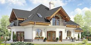 Rumah Jenis Atap Kombinasi