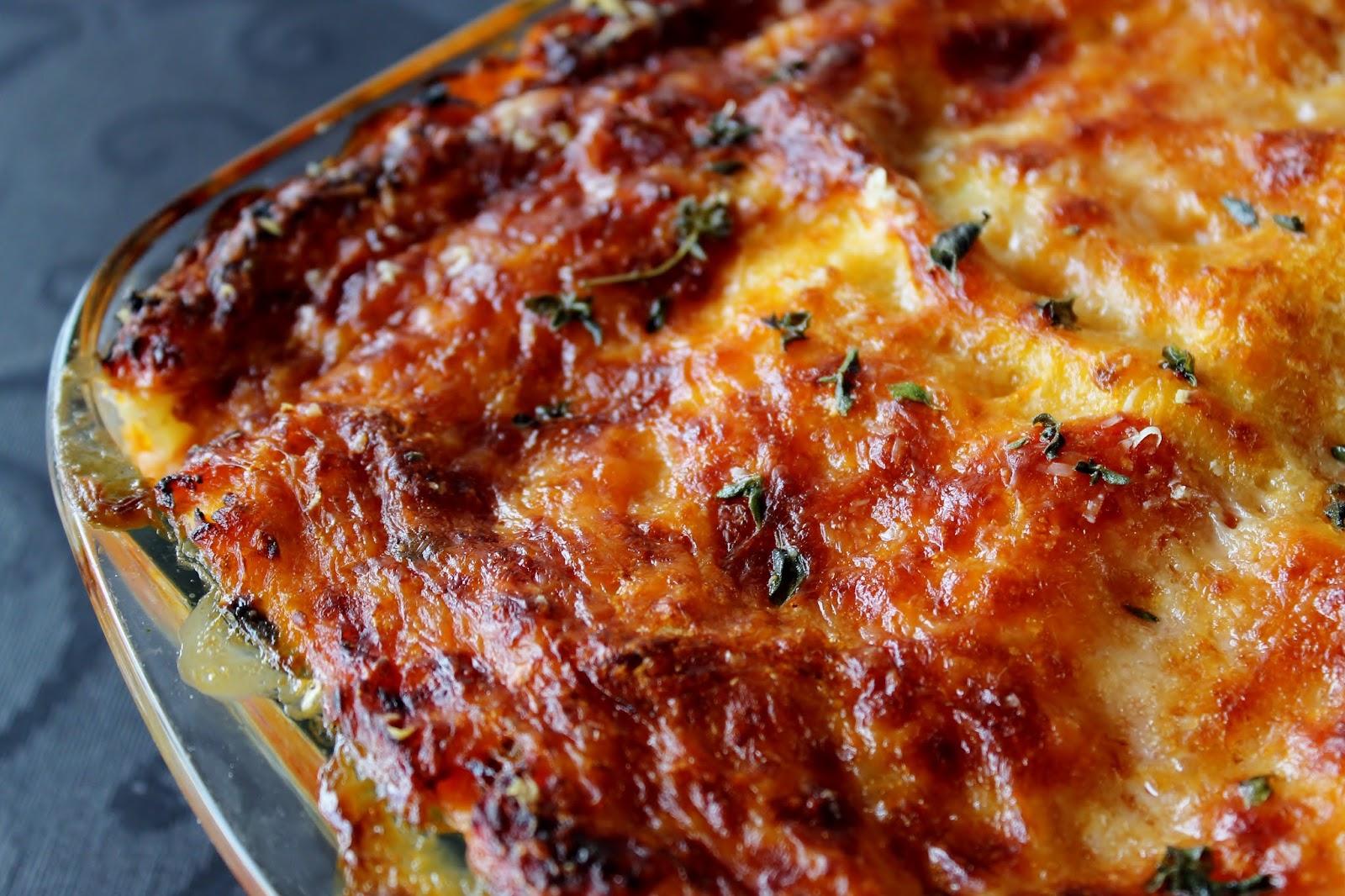 Charlottes Køkken: Canneloni med spinat og ricotta