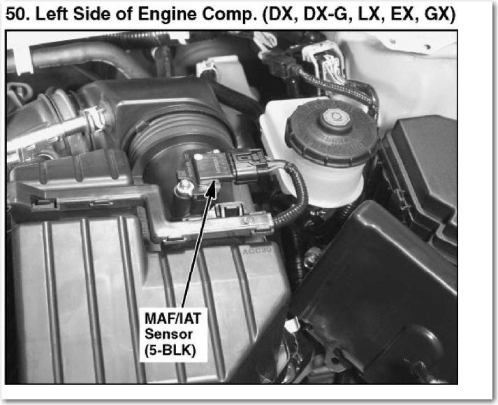 1992 Honda Civic Cold Air Intake
