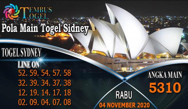 Bocoran Pola MainTogel Sidney Hari Rabu 04 November 2020