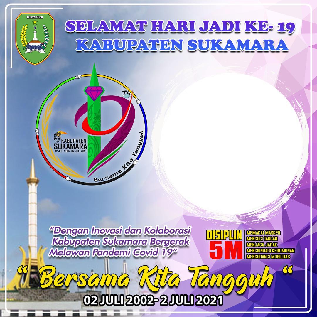 Link Download Frame Bingkai Twibbon Selamat Hari Jadi Kabupaten Sukamara 2021