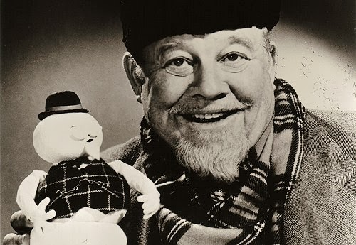 Burl Ives Sam the Snowman Rudolph the Red-Nosed Reindeer animatedfilmreviews.filminspector.com