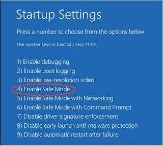 Cara Boot Masuk Safe Mode di Windows 10