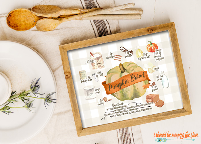 Illustrated Recipe Printable