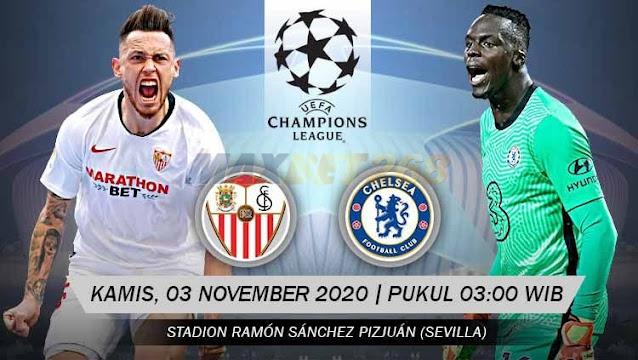Prediksi Sevilla Vs Chelsea, Kamis 03 November 2020 Pukul 03.00 WIB