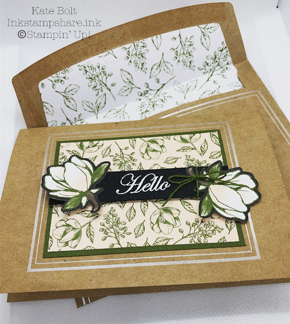 Magnolia Lane Hello Card Featuring Magnolia Lane cards and Envelopes