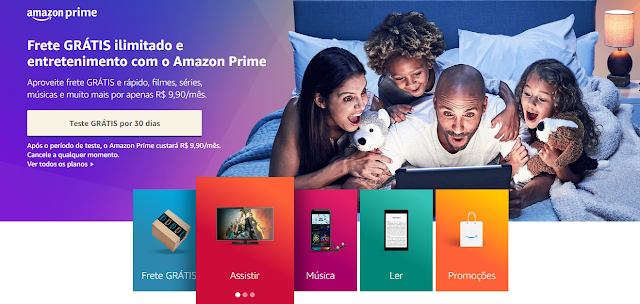Amazon Prime [30 Dias Grátis] - Clique Aqui