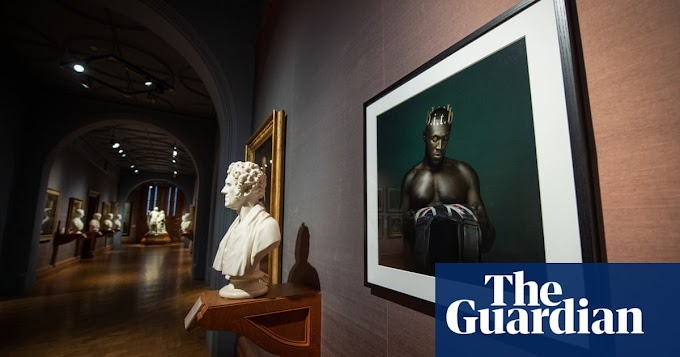 Ghanaian-Brit rapper stormzy honored with new image display at the National Portrait Gallery in the UK