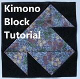 Quilt block-free tutorial-quilt tutorial-kimono quilt block