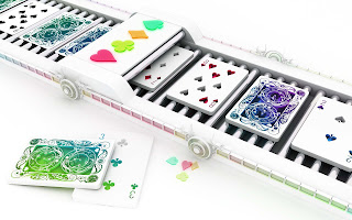 3D play gambling cards wallpapers