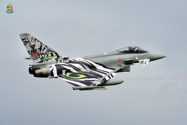 Italian Eurofighter tiger livery scheme