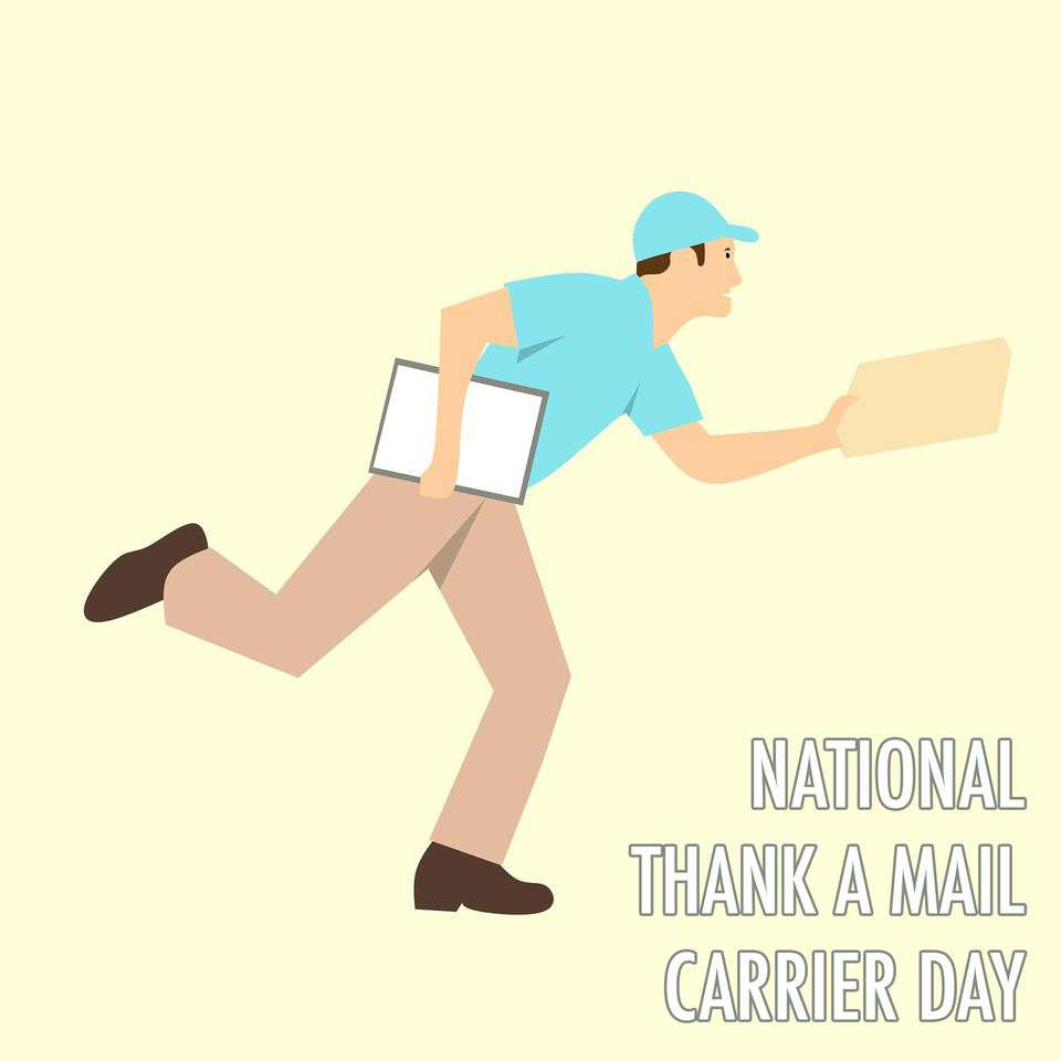 National Thank a Mail Carrier Day Wishes pics free download