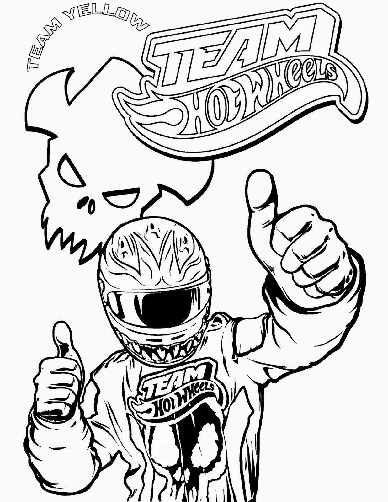 Hot Wheels Coloring Pages 64