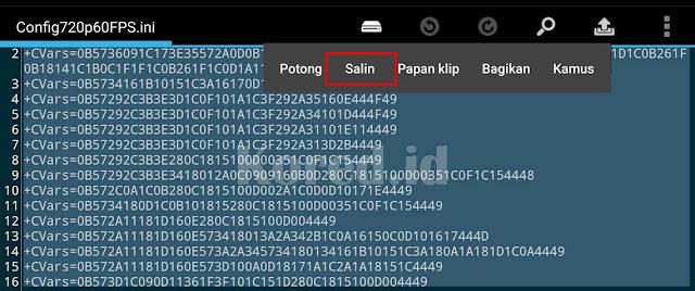 Config 720p Pubg Mobile Lite