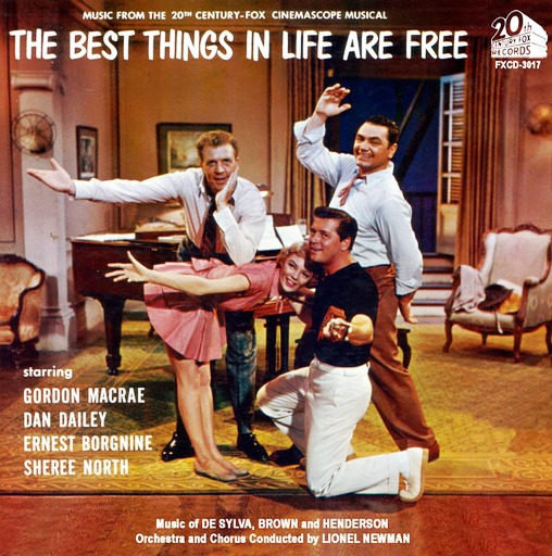 Another old movie blog the best things in life are free 1956 the best thingsin life are free 1956 is a delightful entry in the musicals about composers genre presenting an array of broadway tunes from the team of fandeluxe Choice Image