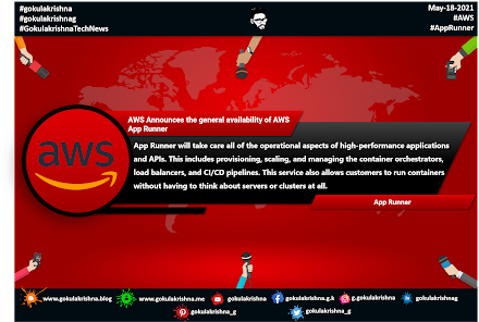 AWS Announces the general availability of AWS App Runner