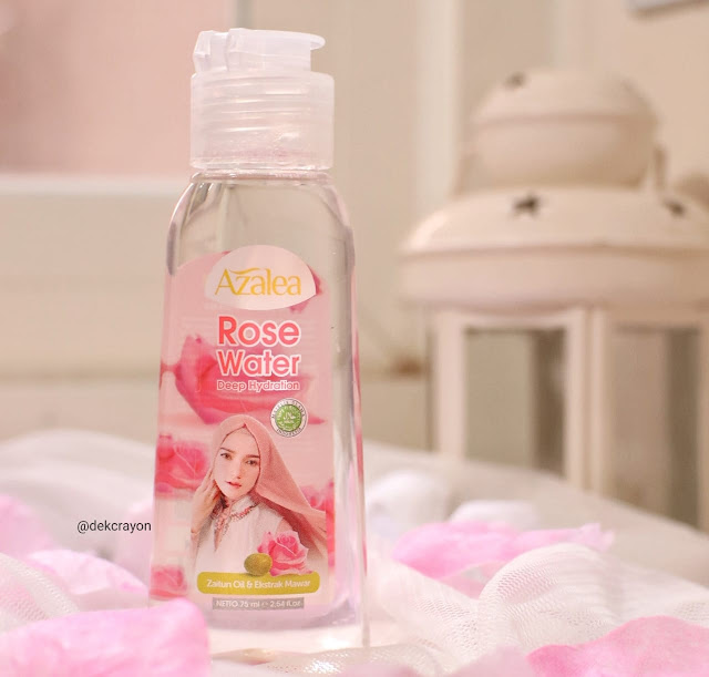 3 Manfaat Azalea Deep Hydration Rose Water