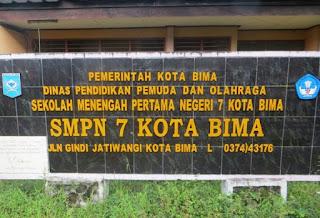 Dapat Dana Rehab Ruangan TU dan Kasek, Kepala SMPN 7 Kobi Bersyukur