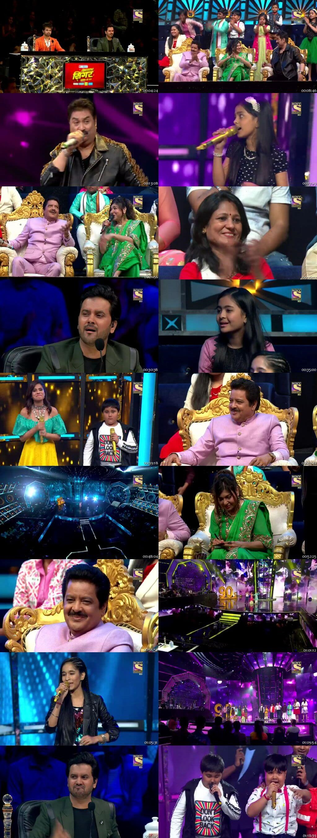 Screenshots Of Hindi Show Superstar Singer 28th July 2019 Episode 10 300MB 480P HD