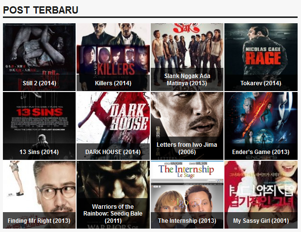 Cinemaindo.NET Nonton Film Online Gratis Subtitle Indonesia