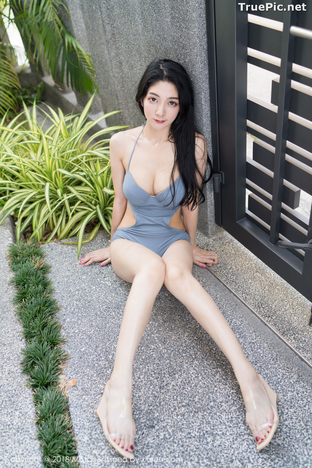 Image MiStar Vol.238 - Chinese Model - Xiao Reba (Angela小热巴) - Sleep Dress and Monokini - TruePic.net - Picture-39
