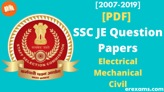 SSC JE Previous Year Papers Pdf Download Electrical, Mechanical, Civil Engineering - ErExams - Engineering Exams Guidance RSS Feed  IMAGES, GIF, ANIMATED GIF, WALLPAPER, STICKER FOR WHATSAPP & FACEBOOK