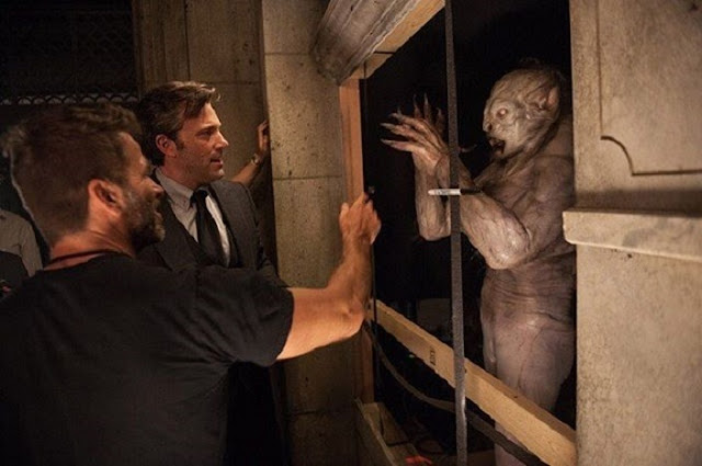 Ben Affleck junto a Zack Snyder