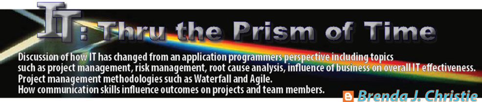 IT Thru the Prism of Time: A Mainframe Hardware, Software
