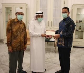 Anies Terima Rp4,327 Miliar dari Liga Muslim Dunia untuk Tenaga Medis di DKI