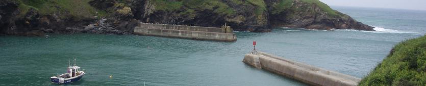 Banner Header, Cornwall