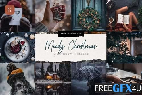 4 Moody Christmas Presets