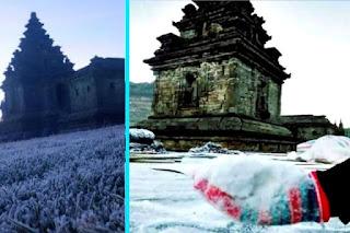 Bulan Agustus Waktu Terbaik Untuk Berlibur ke Dataran Tinggi Dieng, Bisa Melihat Salju