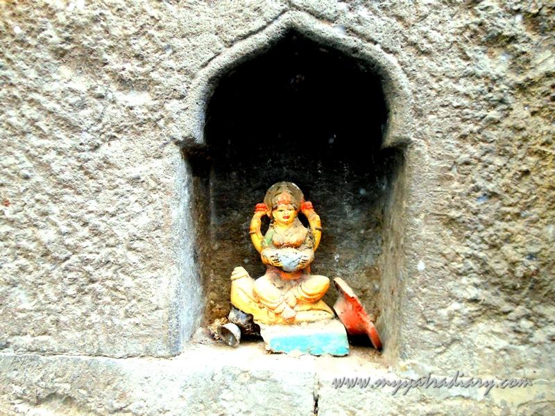 Courtyard of Kasba Ganpati Temple in Pune