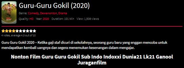 Nonton Film Guru-Guru Gokil (2020) Lengkap Link Terbaru 2021