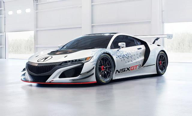 Η Honda παρουσιάζει την πρώτη αγωνιστική έκδοση του supercar NSX