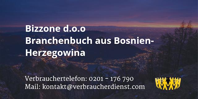 Bizzone d.o.o  Branchenbuch aus Bosnien-Herzegowina