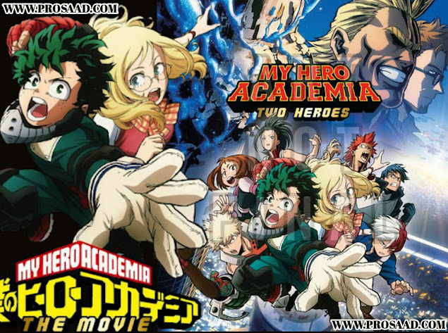 My Hero Academia Two Heroes Download