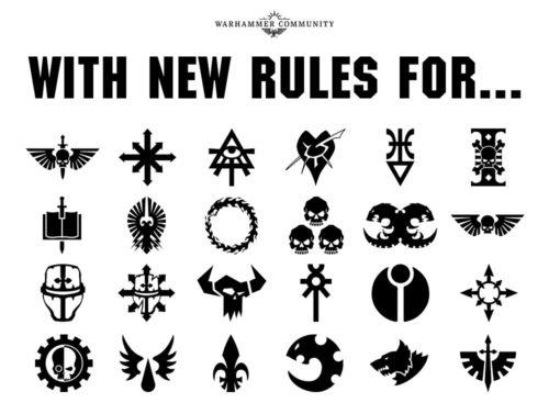 Psychic Awakening: Facciones de Warhammer 40,000