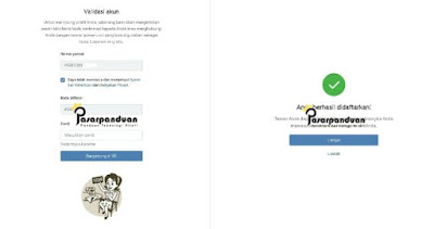 cara daftar akun vkontakte melalui web